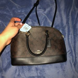 Brand new never used tag and in box coach bag